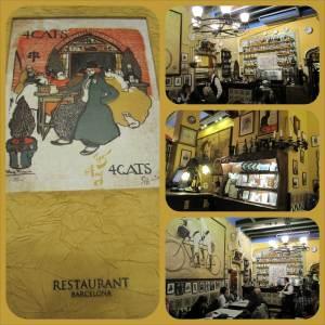 """Restaurant Els Quatre Gats (""""the 4 cats"""")"""