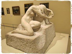 The original sculpture at the MNAC